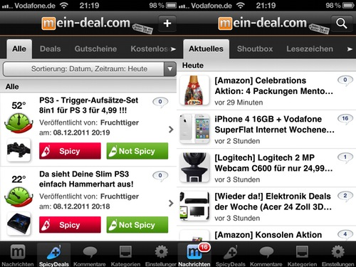 app review mein deal junge. Black Bedroom Furniture Sets. Home Design Ideas