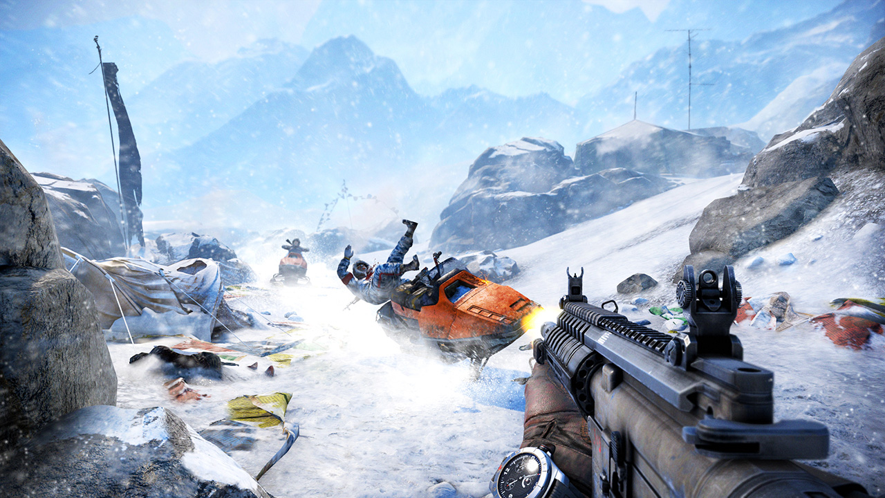 Far Cry 4 Schnee